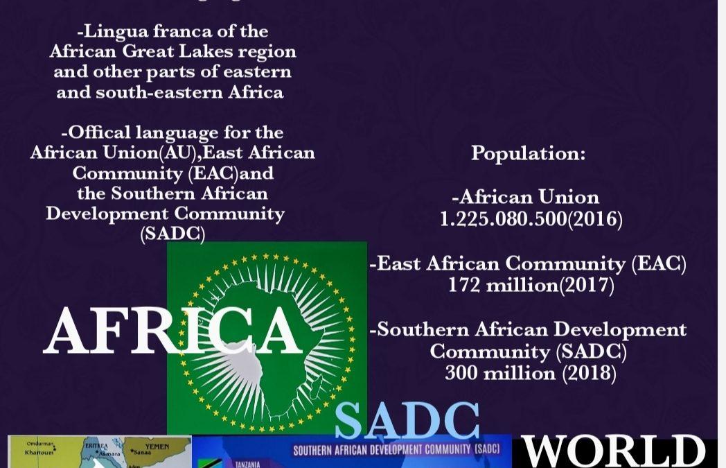 Swahili Worldwide Flyer